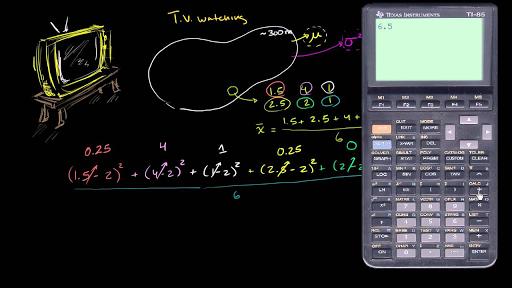 Sample Variance Video Khan Academy