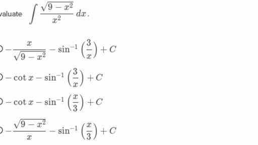 Trigonometric substitution (practice) | Khan Academy