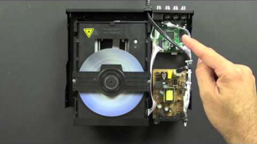 What is inside a DVD player? (1 of 5)