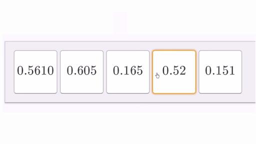 Ordering decimals 2 (video)   Decimals   Khan Academy