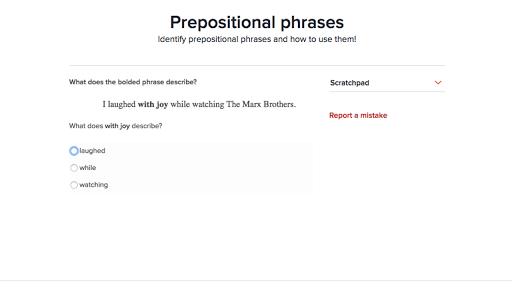 Prepositional phrases practice – Appositive Phrases Worksheet