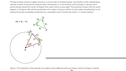What Is Centripetal Acceleration Article Khan Academy