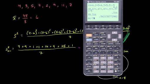 Sample standard deviation and bias