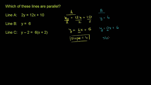 Drawing Lines Using Y Mx C : Perpendicular lines from equation analytic geometry video