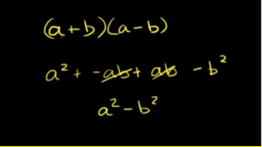 Factoring difference of squares: two variables (video) | Khan Academy