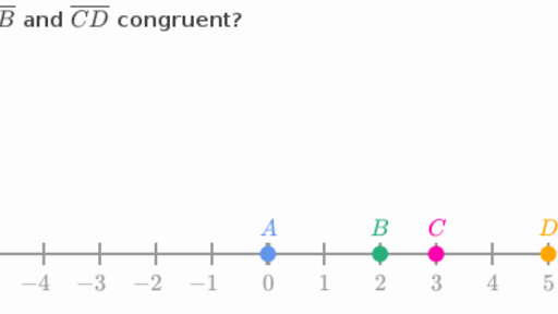 Congruent Line Segments Video Lines Khan Academy