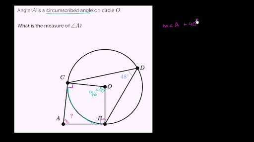 Tangents of circles problems (practice) | Khan Academy