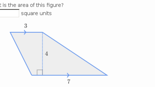 Area of trapezoids video – Area of Trapezoids Worksheet