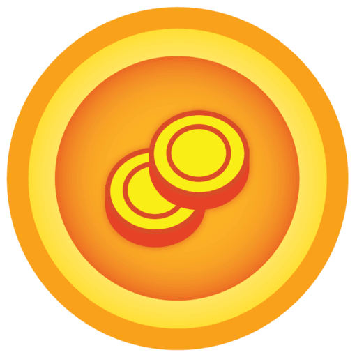 a large illustration of a Sun Badges