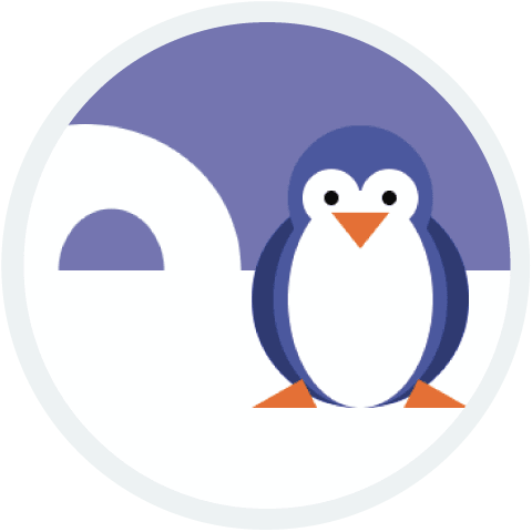 penguin: A project from Hour of Code last year, courtesy of Lydia.