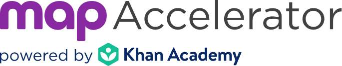 MAP® Accelerator™ powered by Khan Academy