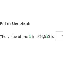 Compare Decimal Place Value