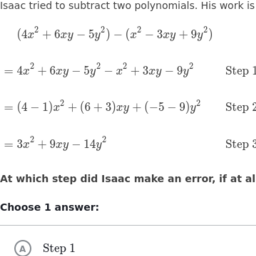 Arithmetic with Polynomials and Rational Expressions | High School ...