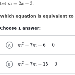 Reasoning with Equations and Inequalities | High School: Algebra