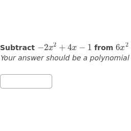 Arithmetic with Polynomials and Rational Expressions | High School