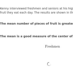 Interpreting Categorical and Quantitative Data   High School
