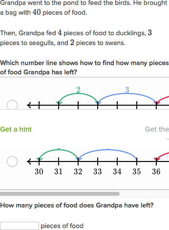 adding and subtracting on number line word problems video khan rh khanacademy org