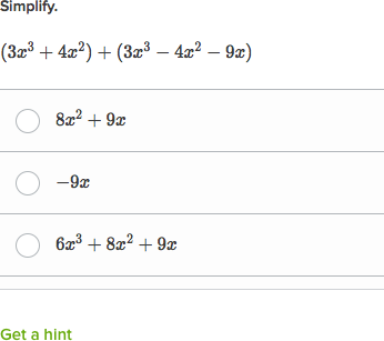add polynomials intro practice  khan academy