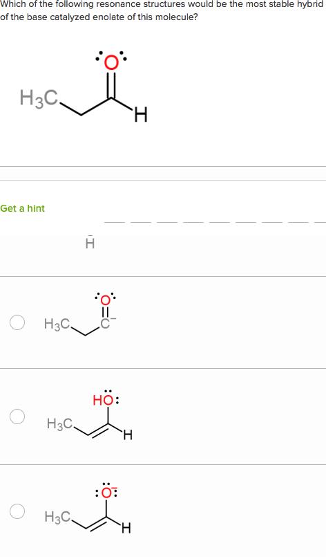 Alpha-carbon chemistry questions (practice) | Khan Academy