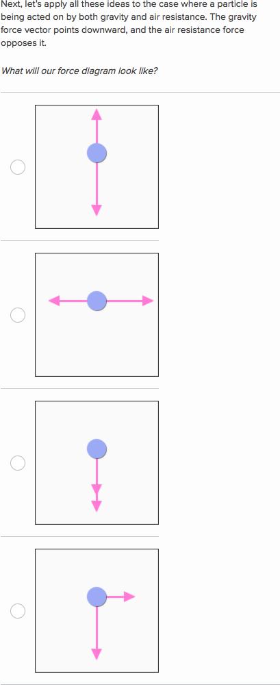 Understanding Net Forces Video Effects Khan Academy