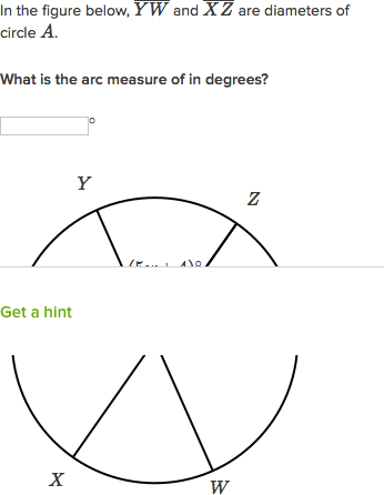 Intro To Arc Measure Video Circles Khan Academy