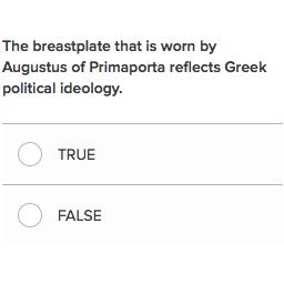 augustus of primaporta analysis