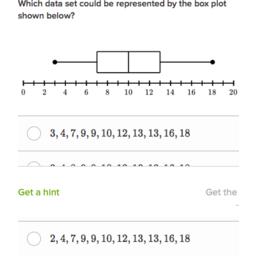 Erstellen von Boxplots (Übung) | Khan Academy
