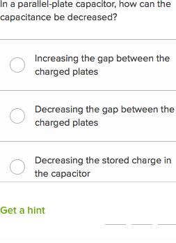 Capacitors questions (practice) | Khan Academy