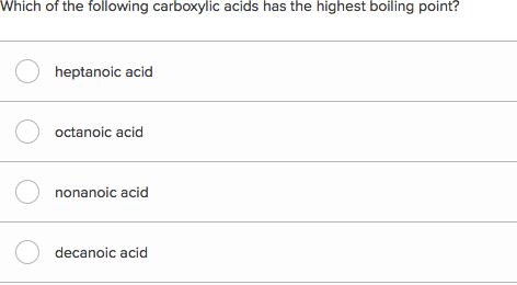 Carboxylic Acid Reactions Overview Article Khan Academy
