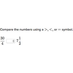 Vergleiche Brüche und gemischte Zahlen (Übung) | Khan Academy