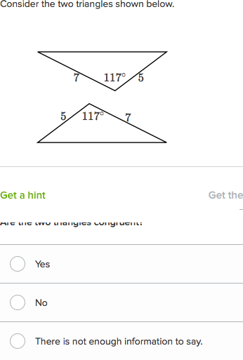 Determining Congruent Triangles Video Khan Academy