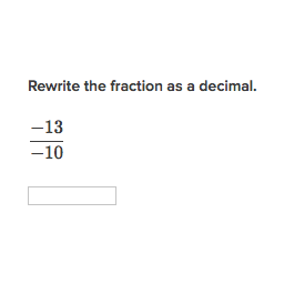Worksheets Convert Fraction To Decimal Worksheet converting fractions to decimals rewriting as arithmetic essentials khan academy