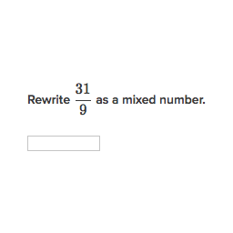 Rewrite Mixed Numbers And Improper Fractions Practice Khan Academy