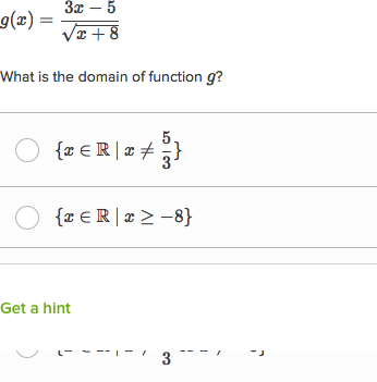 Domain Of Advanced Functions Video Khan Academy