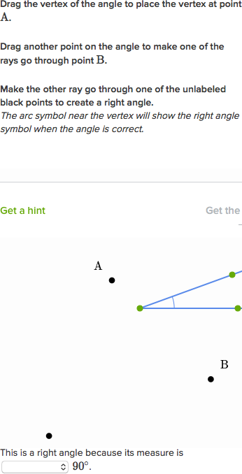 Acute Right Obtuse Angles Video Khan Academy