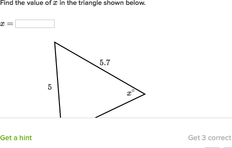 Finding Angles In Isosceles Triangles Video Khan Academy