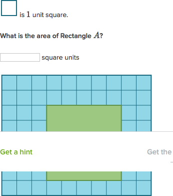 Area of rectangles practice khan academy ccuart Image collections