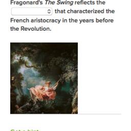 Fragonard The Swing Practice Rococo Khan Academy