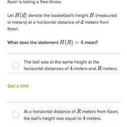 Function notation word problems | Algebra (practice) | Khan Academy