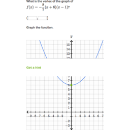 Graph quadratics: factored form | Algebra (practice) | Khan Academy