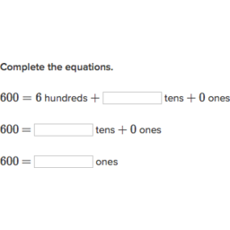 Hundreds, tens, and ones   Place value (practice)   Khan Academy