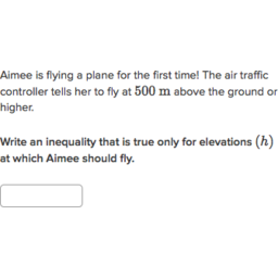 Inequalities word problems (practice) | Khan Academy