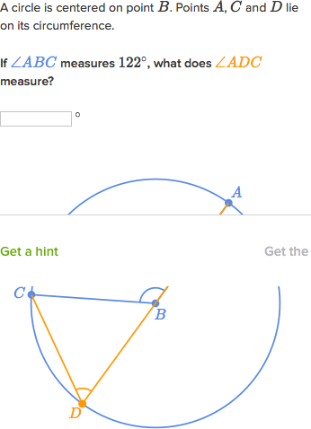 Inscribed angles (practice) | Circles | Khan Academy