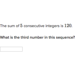 Consecutive Integer Problems Lesson Plans &amp- Worksheets
