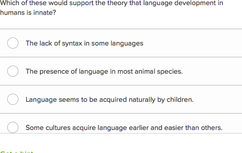 Theories Of The Early Stages Language Acquisition Article