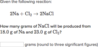 solving limiting reactant problems in solution