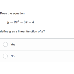 linear nonlinear functions practice khan academy