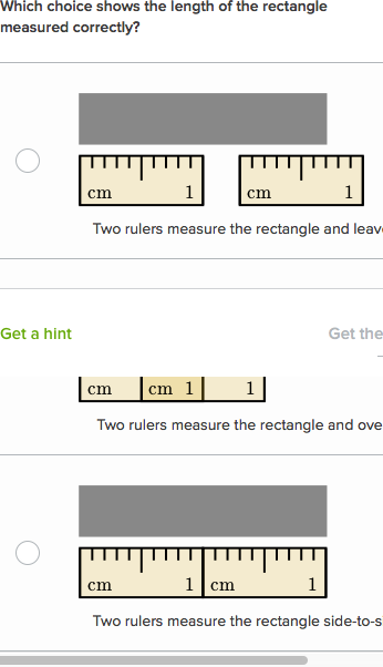 Measuring Lengths 2 Video Khan Academy