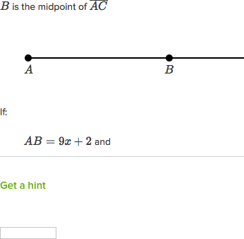 Equation practice with midpoints (practice) | Khan Academy