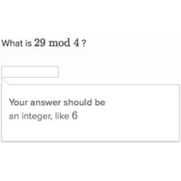 Modulo operator (practice) | Khan Academy